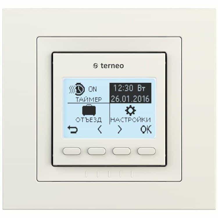 Терморегулятор Terneo pro unic сл. к. б/д