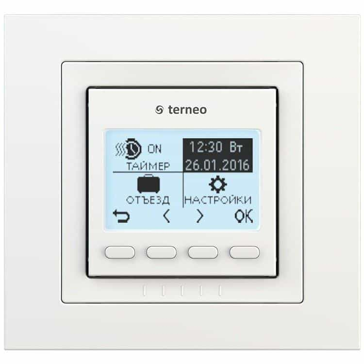Терморегулятор Terneo pro unic б/д